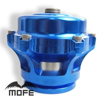 SPECIAL OFFER HIGH QUALITY V Band 50mm Q Blow Off Valve Flange With 10 PSI Spring Blue