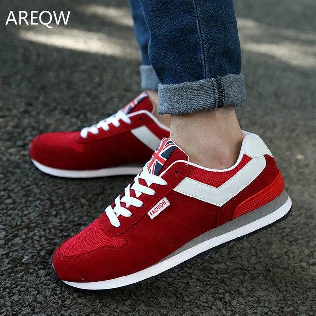 Moda Zapatos Hombre Calzado Casual Shoes 2017 Nuevo Unisex Baratos Confortables Zapatos de Los Muchachos del otoño zapatillas deportivas hombre