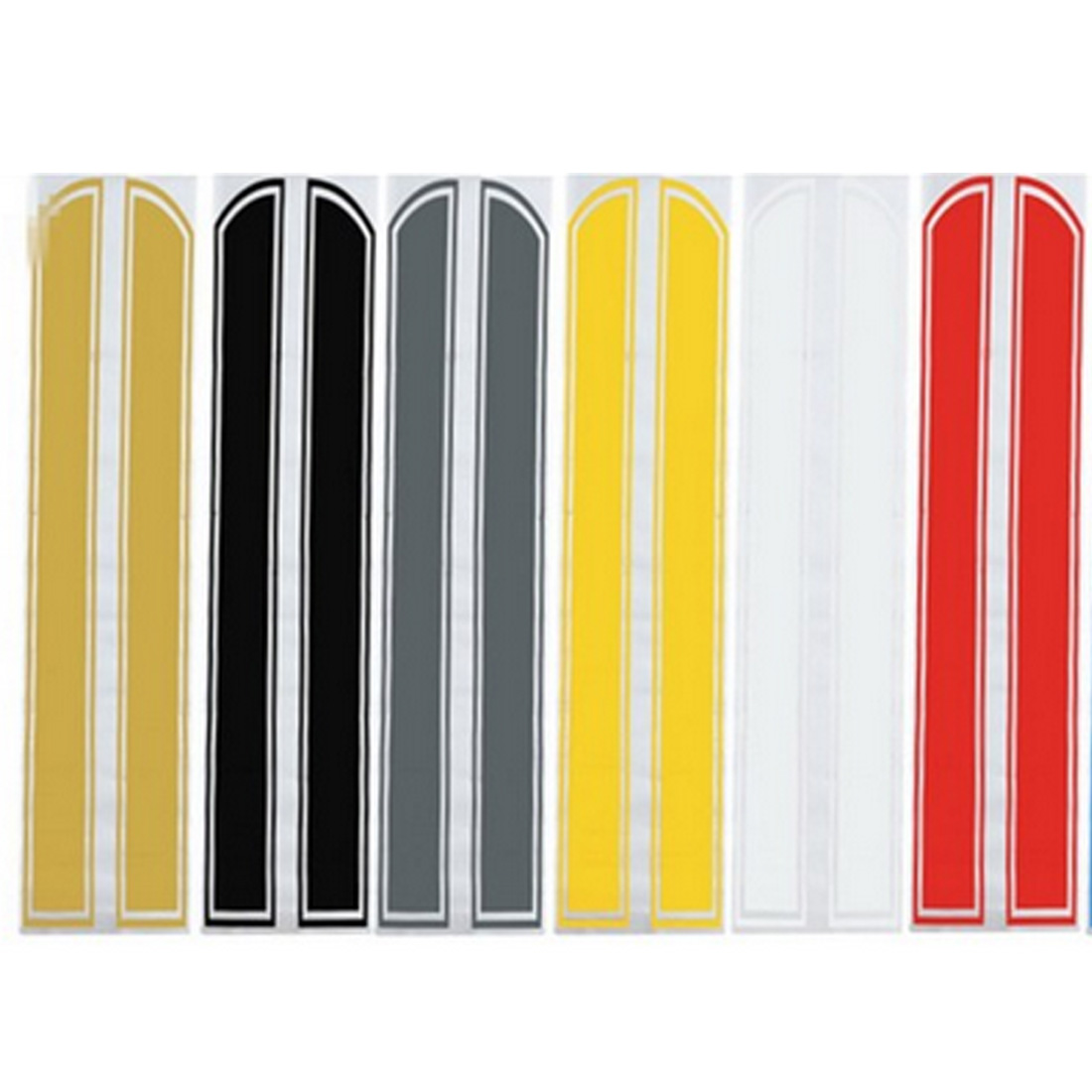 Dewtreetali Universal 130cm x 24cm Car Hood Scratched Stickers Engine Cover Styling Reflective Decal Stripe Vinyl DIY Decoration