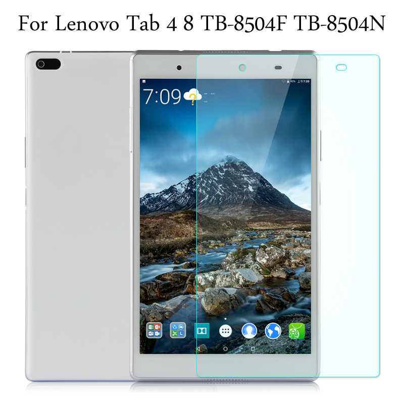 9 H HD الزجاج المقسى غشاء لينوفو تبويب 4 8 TB-8504F/TB-8504N 8.0 بوصة اللوحي واقي للشاشة فيلم