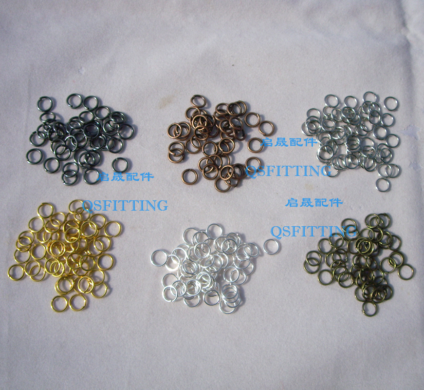 100pcs/lot jewlery findings and components,6 different plating,alloy connectors for bracelets 2214574 6[i o connectors 2x2 qsfp cage and pt asse mr li