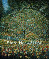 Gustav Klimt Reproduction Oil Paintings Trees Impressionist Hand Painted High Quality Wall Art Apple Tree Home