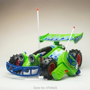 Image 2 - Freies Verschiffen Ursprüngliche Thinkway Spielzeug Geschichte Sammlung Woody RC auto Action figuren spielzeug Puppe Kind giftt