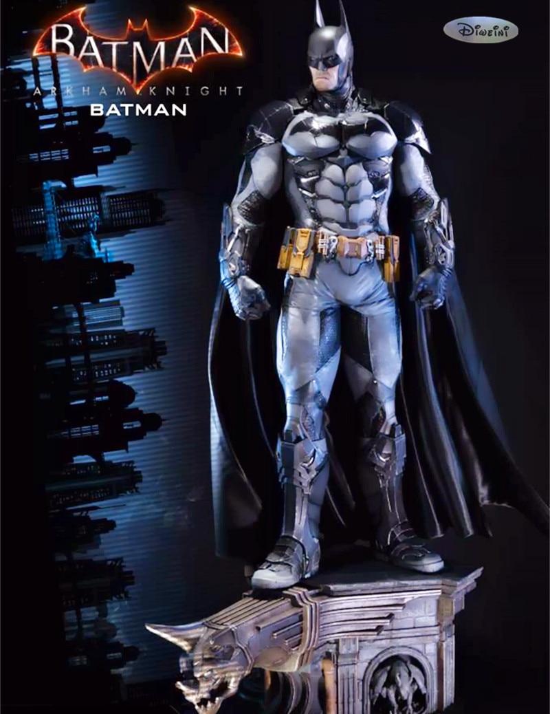 цена на Statue Avengers Batman statue 1:3 scale Batman Full-Length Portrait : Arkham Knight Polystone Statue WU692
