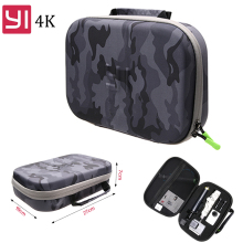 EVA Bag Case for Xiaomi Yi 4k 4K+ Yi Camera Waterproof Camouflage portable Storage Bag for Gopro Hero 5 4 SJCAM SJ4000 SJ6 SJ7 все цены