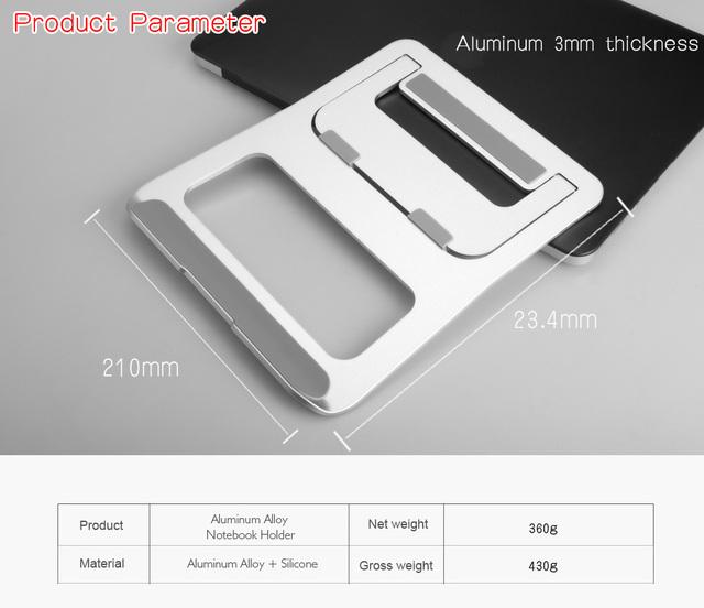 Universal Aluminum Alloy Holder Stand – MacBook Pro – Laptop