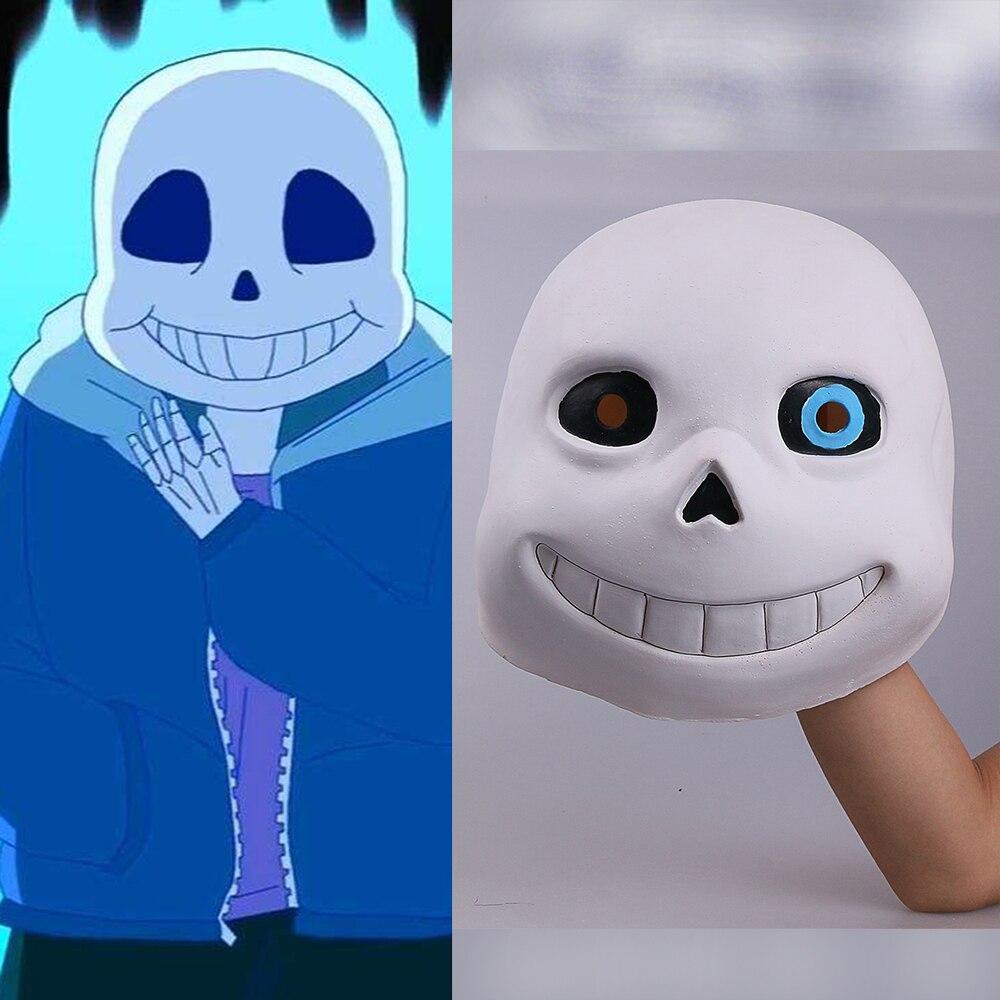 Tête pleine sous-bois Sans Latex Cosplay drôle blanc masques casques accessoires fête Halloween fantaisie boule de noël