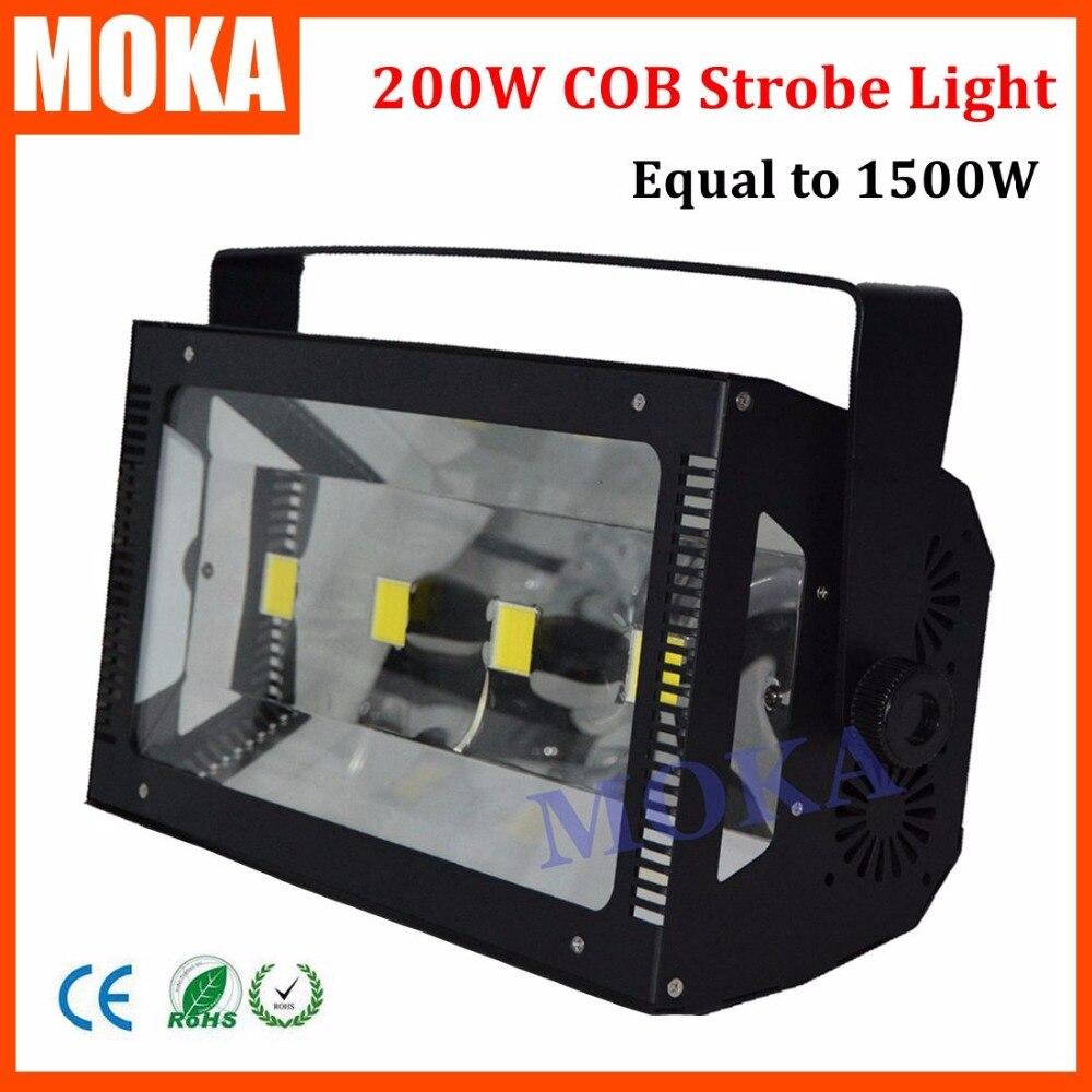 Хорошие продажи 50Wx4 светодиодный COB Atomic 200 Вт вспышка COB стробоскоп освещение равное 1500 Вт стробоскоп DJ бар свет