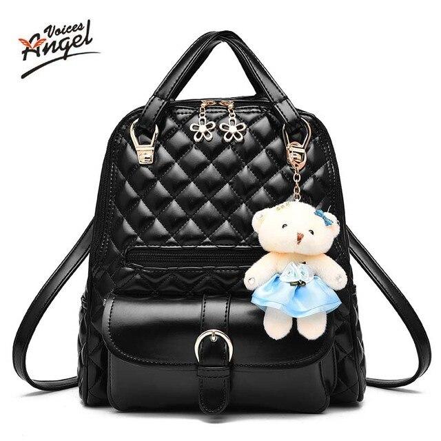 3554122a6dff 2017 Брендовые женские кожаные рюкзаки школьные сумки женские рюкзаки  женская обувь высокого качества Школьные сумки для