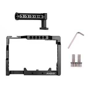 Image 5 - Andoer Video Film Making stabilizator górny uchwyt klatka operatorska do aparatu Sony A7II/A7III/A7SII/A7M3/A7RII/A7RIII