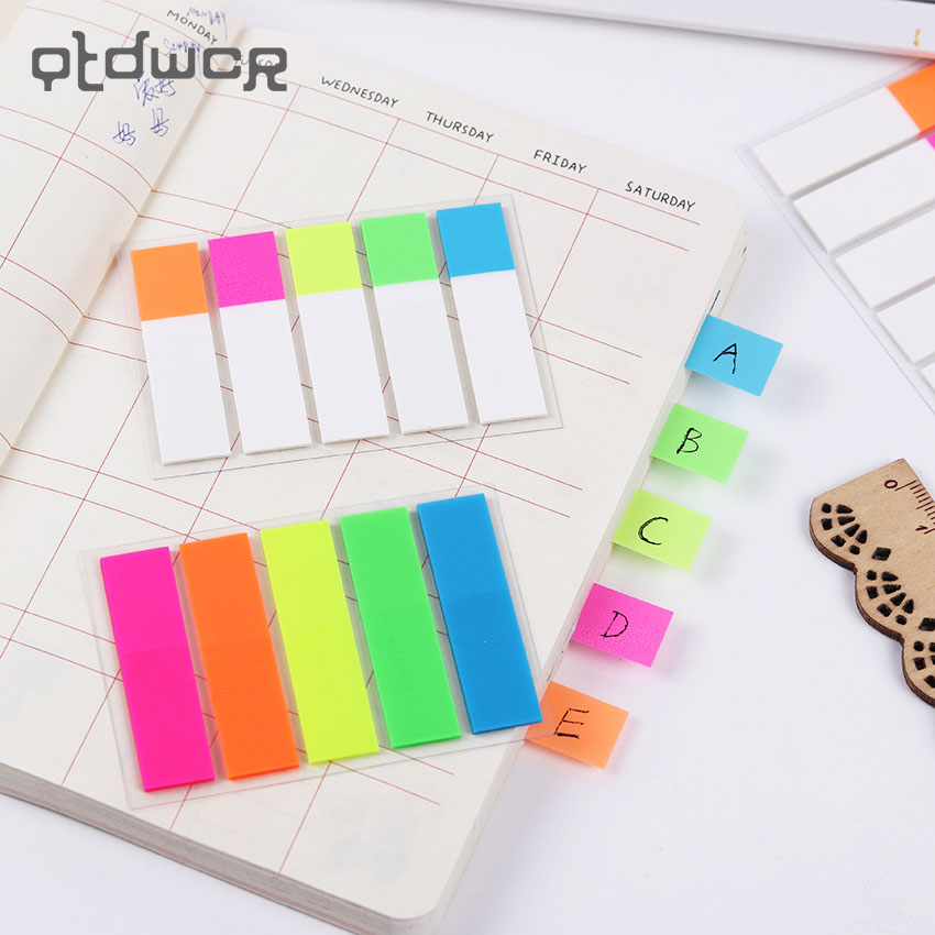 DIY New Kawaii Colored Memo Pad Lovely Sticky Paper  Note School Office Supplies Korean Stationery Gift
