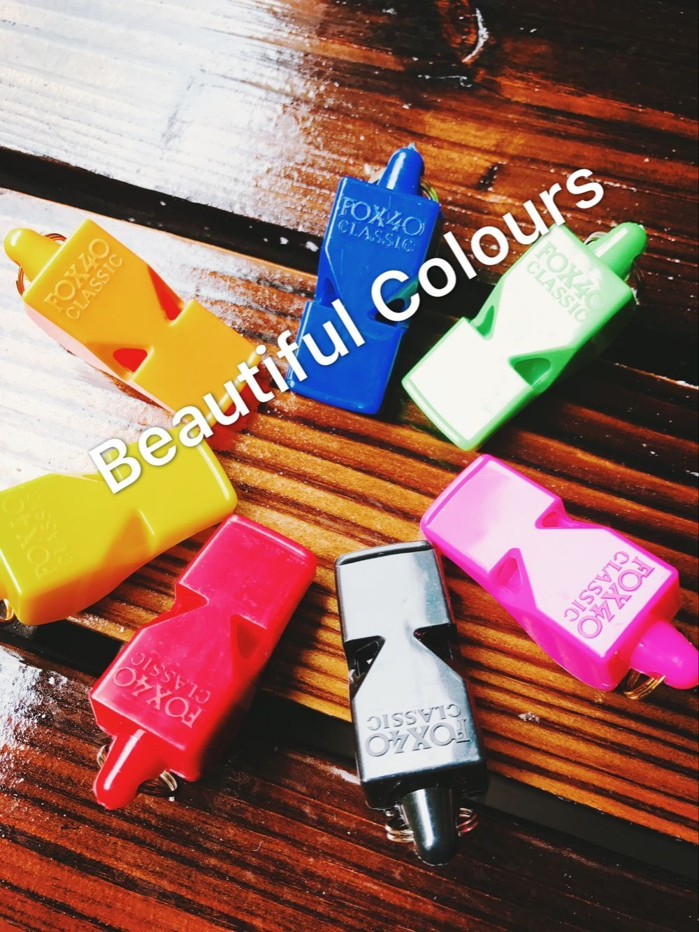 PROMOTION!!!Free Shipping 0.6USD/PC Colorful Fox 40 Whistle Sport Whistle Referee Whistle