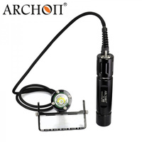 ARCHON DH26 WH32 Дайвинг фонарик свет фонарь угги факел Подводные лампы CREE XM L2 U2 светодиодный 1000 люмен