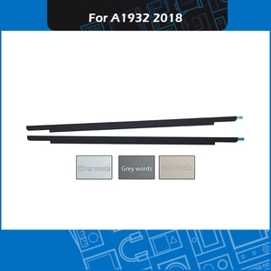 Genuíno a1932 lcd bezel display capa com logotipo adesivos fita adesiva para macbook ar retina 13 cover cover a1932 cobertura de vidro tarde 2018