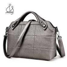 Vintage Fashion Women Women's Business Leather Bag Quilted Handbag Pochette Crossbody Bags Large Shoulder Diamond Lattice