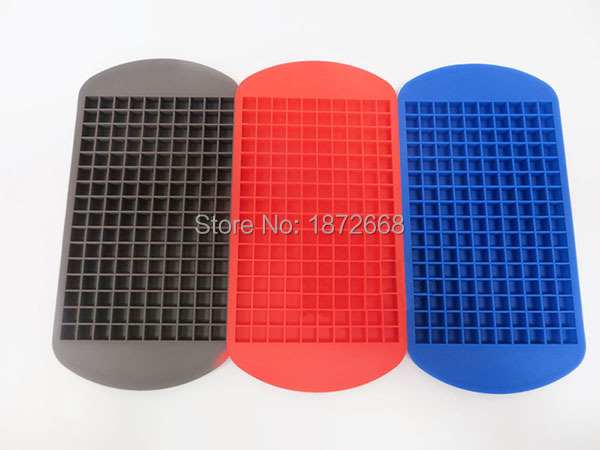 NEW Children's Day 160 Small Ice Maker Tiny Ice Cube Trays Chocolate Mold Mould Maker For Kitchen Bar Party Drinks 100pcs