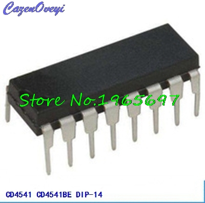 10pcs/lot <font><b>CD4541BE</b></font> CD4541 DIP-14 new original In Stock image