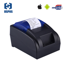 Cheap bluetooth thermal printer 58mm Android, IOS POS receipt printer no need ribbon, ink cartridges for Cash register printing