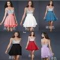 47 céu azul cvintage preto hiffon cristal as costas abertas partido formal vestido de cocktail prom vestidos longos 2014 maxi plus size vestido