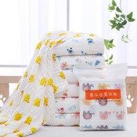 dkDaKanl 120*150CM Children Blanket Lovely Flamingo Cotton Newborn Blanket Multi function Baby Stroller Sunscreen Cloth