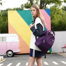 Himawari Women Backpack Purple Waterproof Anti Theft