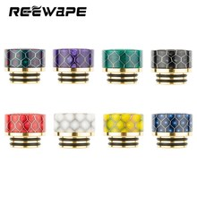 Snake Drip Tip 810 with Metal Core Epoxy Resin Driptips For TFV8 Kennedy 24 Mad Dog RDA Atomizer Wide Bore Mouthpiece(China)
