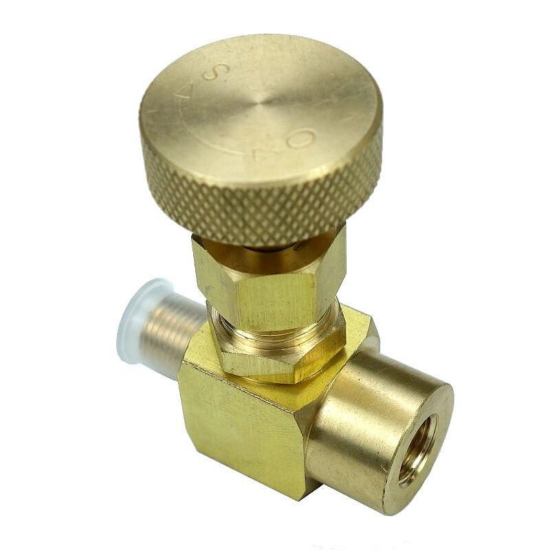 Brass Needle Valve 600 psi 1/8 NPT Male * 1/8 Female NPT ltwfitting brass pipe hex bushing reducer fittings 1 2 male x 1 8 female npt