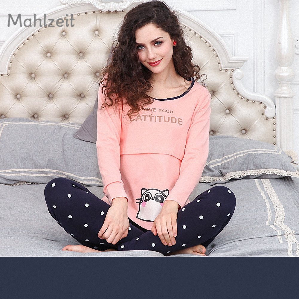 Women's Clothing Tops Efficient 2pcs Womens Maternity Short Sleeve Nursing Baby Tops T-shirt+shorts Pajamas Set