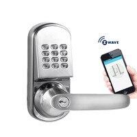 Беспроводной Z wave смартфон приложение дверной замок, без ключа и удаленное управление для квартиры или отель или дом