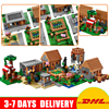 LEPIN 18008 Minecrafted Series Village Model Building Blocks Bricks Model Toys For Children Gift Compatible 21128