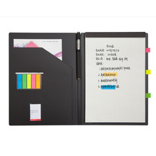 Multi-fonction gestion livre plan bloc-notes agenda affaires réunion carnet planificateur Gel stylo mémo bloc-notes B5 fournitures de bureau(China)