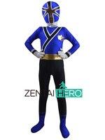 Free Shipping DHL NEW Children S Halloween Costume Blue 2011 SAMURAI Costume Cosplay Kids Superhero Costume