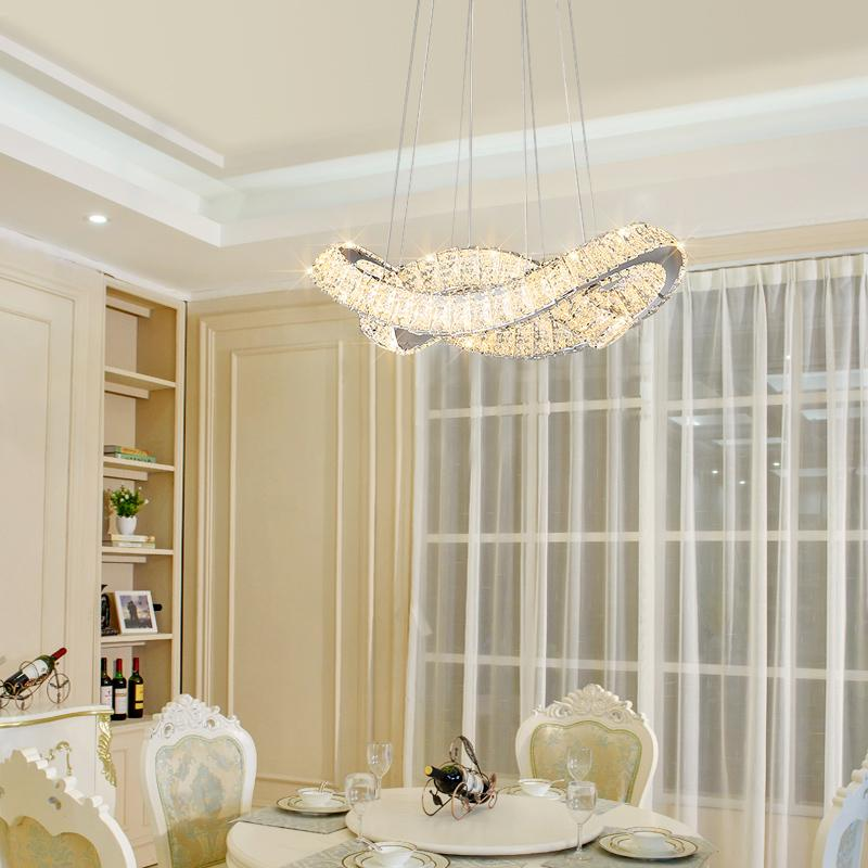 Modern LED Crystal Chandelier Lights Lamp For Living Room Cristal Lustre Chandeliers Lighting Pendant Hanging Ceiling Fixtures veihao modern led chandelier lights lamp for living room cristal lustre chandeliers lighting pendant hanging ceiling fixtures