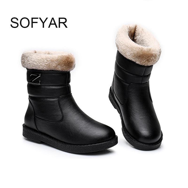 Short hair mother boots boots middle-aged  old women supper warm  boots black fur plush leather ladies boots winter snow mid 70cm ladies wigs ice and fire song dragon mother synthetic hair