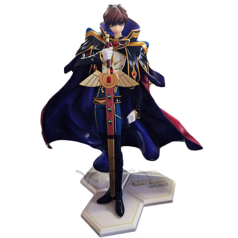 Code Geass Lelouch of the Rebellion knight of seven action figure toys Emperor's dress collection NO BOX elchim фен dress code 2000w черный 03081 фен dress code 2000w черный 03081 1 шт