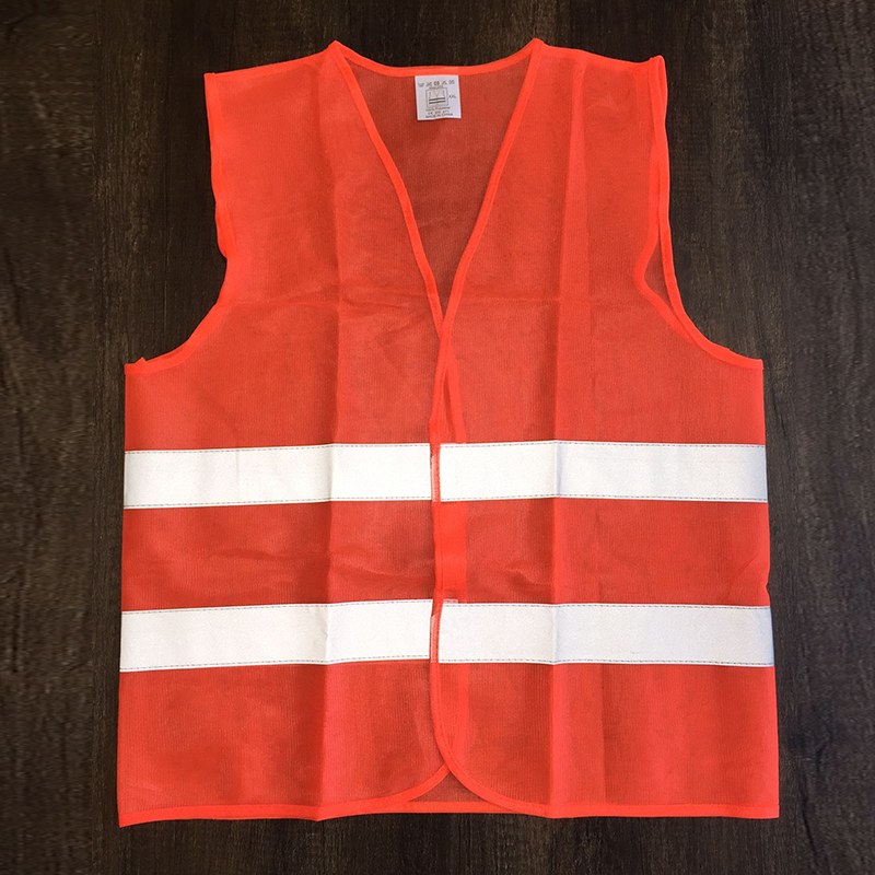 FGHGF Reflective Vest Working Clothes Provides High Visibility Day Night for Running Cycling Warning Safety Vest Clothing ccgk safety clothing reflective high visibility tops tee quick drying short sleeve working clothes fluorescent yellow workwear