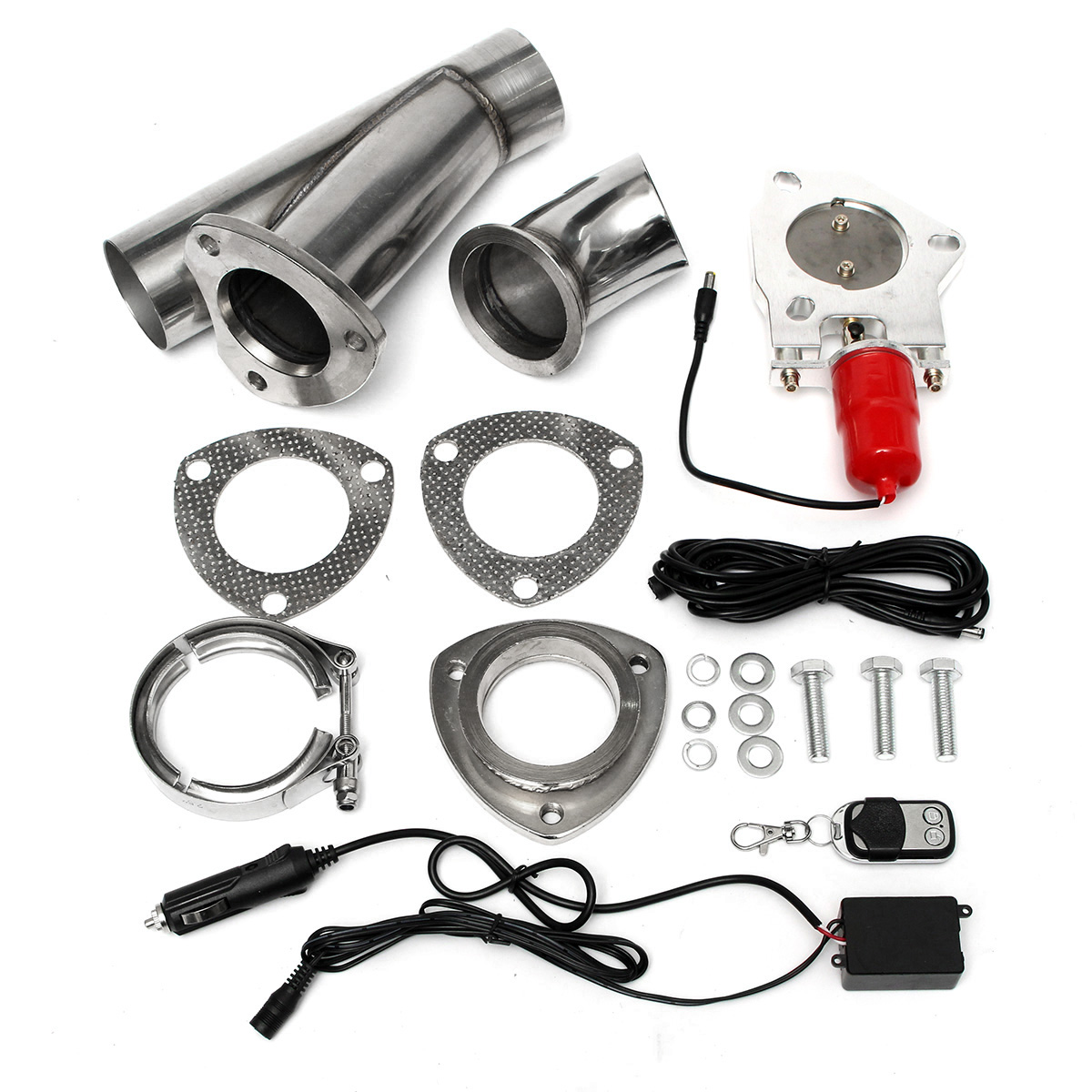 2.5 inch Electric Exhaust Valve Catback Downpipe Systems Dump Remote Cutout E-Cut recommendation systems for e commerce
