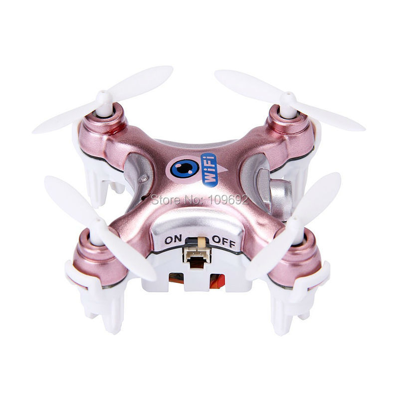 Free Shipping RC Drone Cheerson CX-10W CX10W MINI WIFI FPV Quadcopter 6-Axis 2.4G 4CH With 0.3MP HD Camera Helicopters Toy Gifts