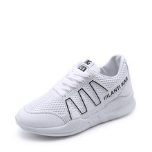 893ebe7cab BALLEI Moda Primavera Mulher Sneaker Alta Qualidade PU Dedo Do Pé Redondo  Confortável Sapatos de Salto Casual Luxury Senhora Mac.