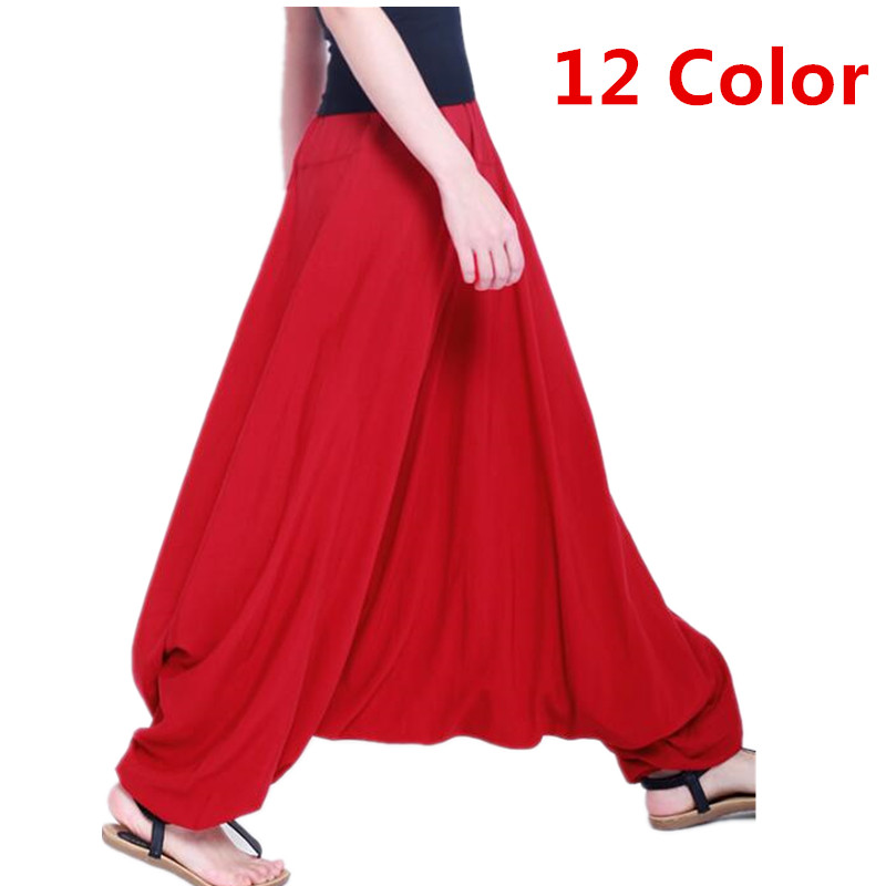 5XL Plus Size  Cotton Large Crotch Pants Leggings Are Comfortable,Casual Trousers & Harem Pants For Women's Clothing