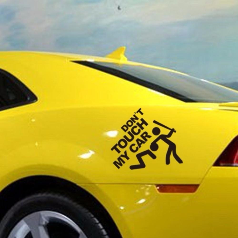 Car decal design singapore - Car Body Cartoon Decal Car Stickers Bumper Window Graphic Safe Car Styling Design Don T