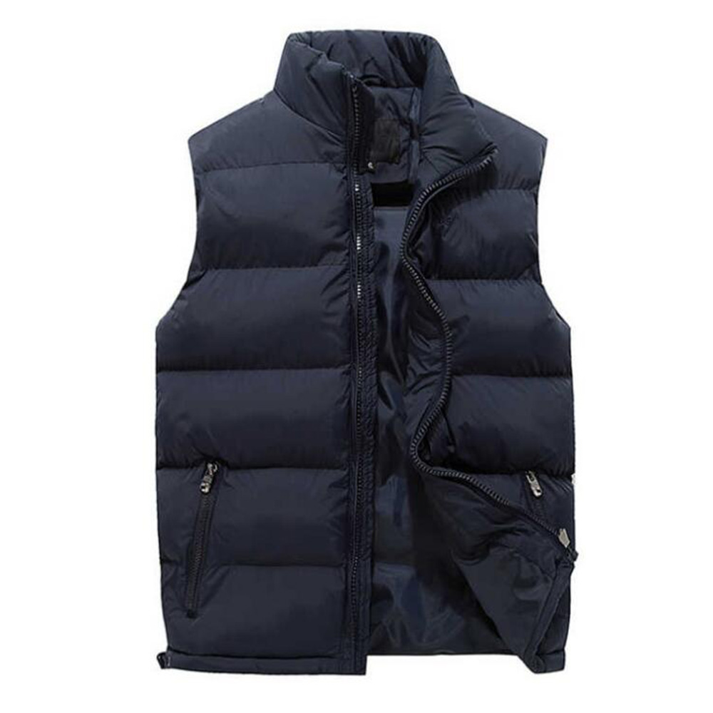 Top Quality Winter&Autumn Black Thermal Vest Men Sleeveless Waistcoat Vest Outdoor Down Jacket Keep Warm Coat 15 6 17 inches man multi functional backpack external charging usb laptop backpack anti theft students waterproof travel bags