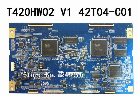 цена free shipping 100% original for T420HW02 V1 42T04-C01 logic logic board test work ,instock