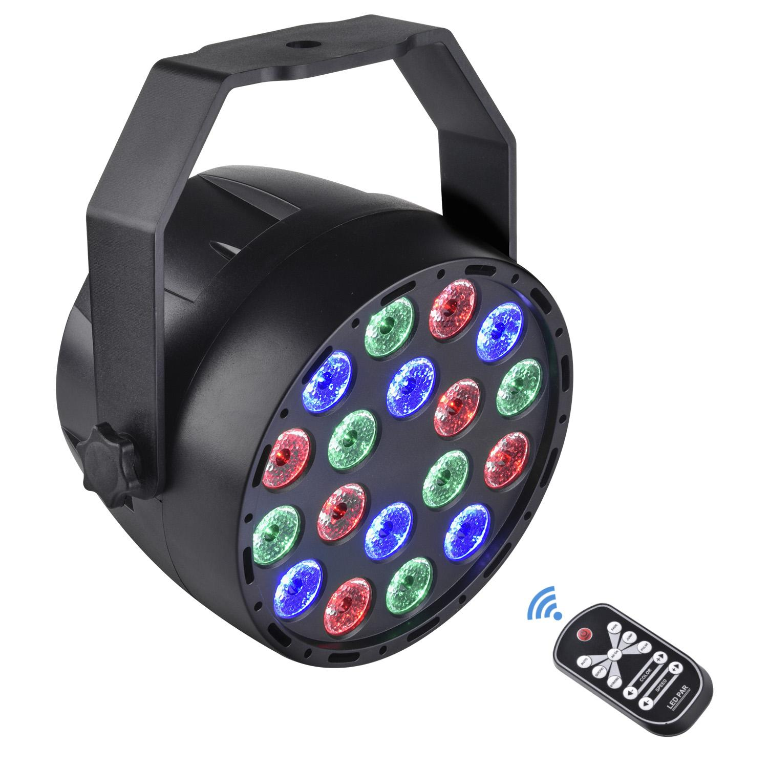 2018 New Arrival Modern 18LED 18W RGB Strobe Stage Effect Lighting DJ Disco Bar Party Hot Selling2018 New Arrival Modern 18LED 18W RGB Strobe Stage Effect Lighting DJ Disco Bar Party Hot Selling