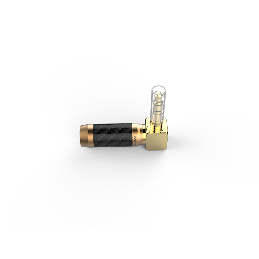 Astrotec Brand New Gold plated Brass 2.5mm 4 Pole Female to 3.5 mm 3 Pole /4.4 mm 5 Pole Male Universal Converter Adapter