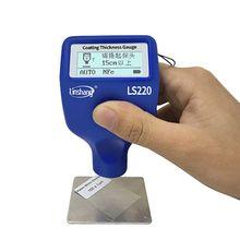 צבע ציפוי עובי בודק 0 2000μm 0.1μm Fe NFe Probe מד LS220 לרכב אוטומטי