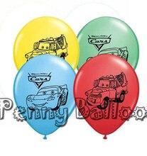 Wholaesale 12 pçs/lote história Balões de Látex balão dos desenhos animados do carro Do Carro de abastecimento festa de aniversário brinquedos decoração do partido das crianças