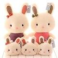 Kawaii plush 35cm lovely stuffed rabbit toys cute bunny plush dolls pillow kawaii pillow kids toys valentine day birthday gift