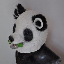 Realistic Panda Movies Mask Animal Latex Children
