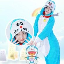Flanellen Pyjama Sets Dames Paar Kleding Familie Anime Pyjama Pyjama Womens  Nachtkleding Doraemon kostuum Pyjama Animal de0b576d9